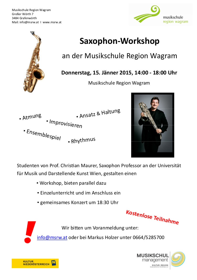SaxWorkshop